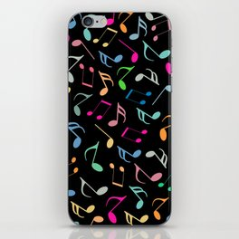Music Colorful Notes II iPhone Skin