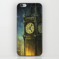 city iPhone & iPod Skins featuring Something for the Nerves by Alice X. Zhang