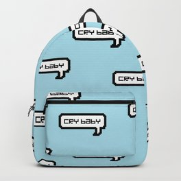 Cry Baby - Blue Backpack