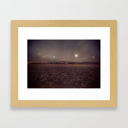 Explorations with Space: No. 2 Framed Art Print