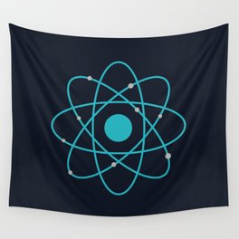 Atom, Molecules, DNA, Science decor, science class Wall Tapestry