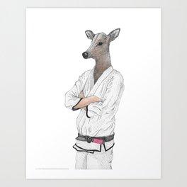 Dear Jiu Jitsu, Art Print