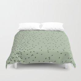 ANTS GREEN (BIG RUG) Duvet Cover