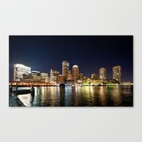 boston Canvas Prints featuring Boston by Bust it Away Photography