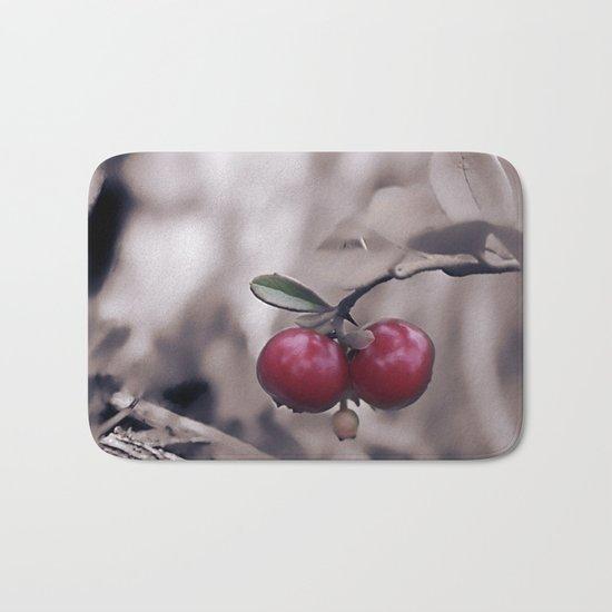 Autumn Berries. Bath Mat