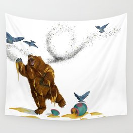 Honey Bear Wall Tapestry