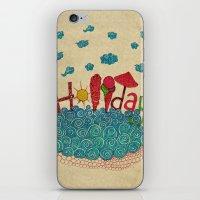 holiday iPhone & iPod Skins featuring Holiday by ezgi karaata