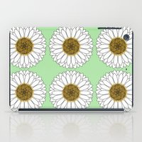 daisy iPad Cases featuring Daisy by Lorelei Douglas