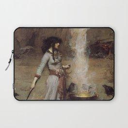 The Magic Circle, John William Waterhouse. Laptop Sleeve