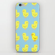 Yellow chick iPhone & iPod Skin