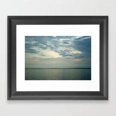 Lake Erie Twilight Framed Art Print