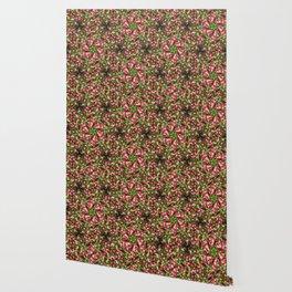 Red leaves | Pattern | Design Wallpaper