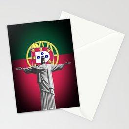 Cristo Salvador de Portugal Stationery Cards