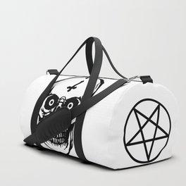 Most Ugly Satanic Skull Duffle Bag