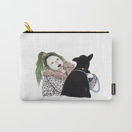 Emilia Farts and dog Carry-All Pouch