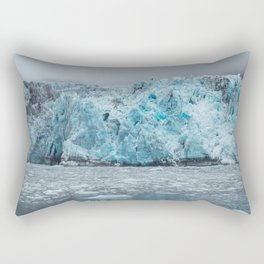 Alaska Blue Glacier Rectangular Pillow