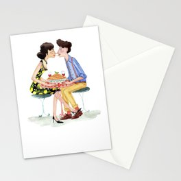 Spaghetti lovers Stationery Cards