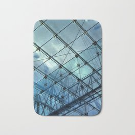 Glass Ceiling VI (Portrait) - Architectural Photography Bath Mat