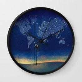 Stars World Wall Clock