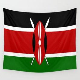 Flag of Kenya Wall Tapestry