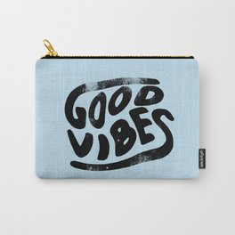 Good Vibes Typography Carry-All Pouch