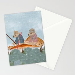 mississippi mice Stationery Cards
