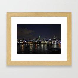 Night in London Framed Art Print