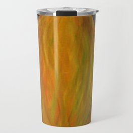 autumn - entrance to the forest Travel Mug