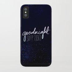 Goodnight Slim Case iPhone X