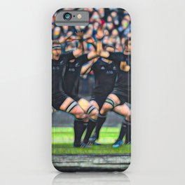 The Power of the HAKA iPhone Case