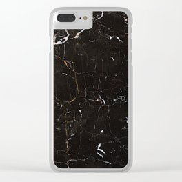 Marble Texture Surface 15 Clear iPhone Case