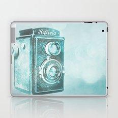 Teal Reflecta Laptop & iPad Skin
