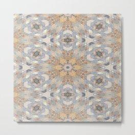 The Alamo Wall Kaleidoscope 6394 Metal Print