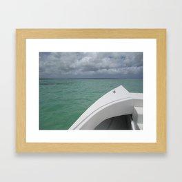 To La Isla Saona Framed Art Print