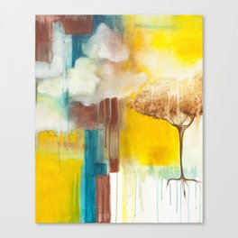 Spilling Light Canvas Print