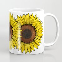 friday Mugs featuring Friday by Virginia Skinner