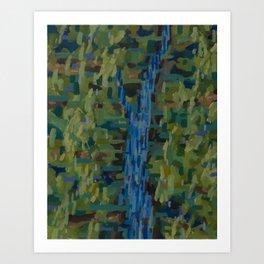 Forest/Stream Art Print