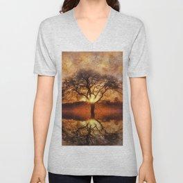 Lone Tree Unisex V-Neck