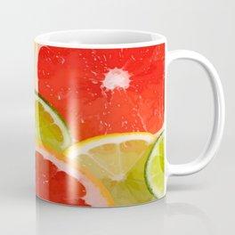 Simply Citrus, Orange Lemon and Mandarin Coffee Mug