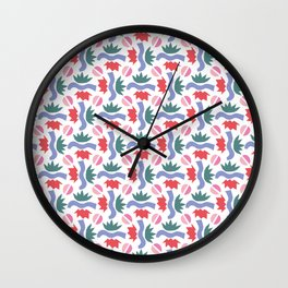 Bushes Wall Clock