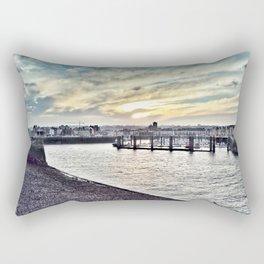 Dieppe Harbour Rectangular Pillow