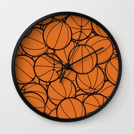Hoop Dreams II Wall Clock