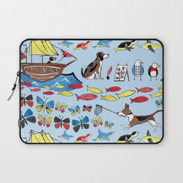 The Voyage of the Beagle Laptop Sleeve