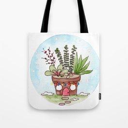 In The Garden: December Tote Bag