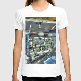 Guy Arab Bus Engine T-shirt