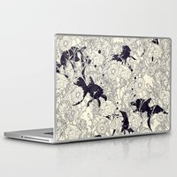 wallpaper Laptop & iPad Skins featuring Hide and Seek by nicebleed