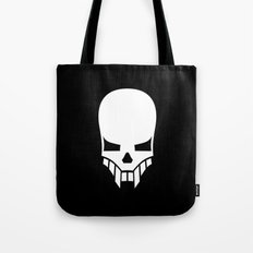 Sinister Skull Tote Bag