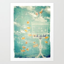 The Cage Art Print