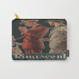 Vintage poster - La Rinascente Carry-All Pouch