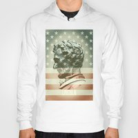 lincoln Hoodies featuring Lincoln by Gusvili
